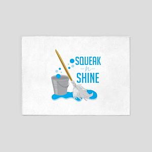Squeak N Shine 5'x7'Area Rug