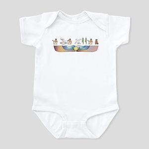 Fold Hieroglyphs Infant Bodysuit