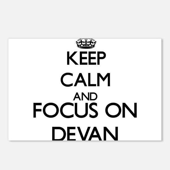 Keep Calm and Focus on De Postcards (Package of 8)