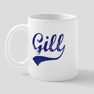 Gill - vintage (blue) Mug