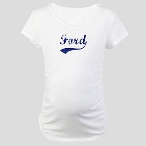 Ford - vintage (blue) Maternity T-Shirt