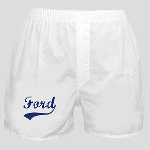 Ford - vintage (blue) Boxer Shorts