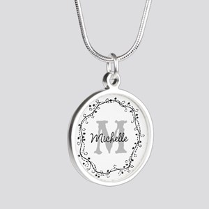 Personalized Valentine Monogram Necklaces For Girl