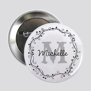"""Personalized Name Tag 2.25"""" Button For Weddin"""