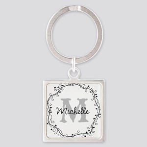 Personalized Monogram Keychains For Girls