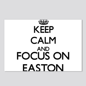 Keep Calm and Focus on Ea Postcards (Package of 8)