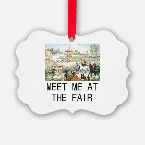 Country Fair Ornament