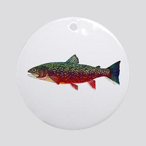 Brook Trout v2 Ornament (Round)