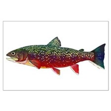 Brook Trout v2 Posters