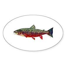 Brook Trout v2 Sticker