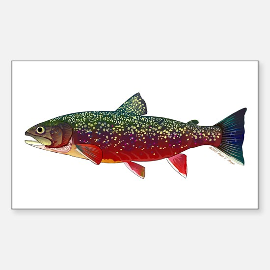 Brook Trout v2 Decal