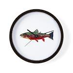 Brook Trout v2 Wall Clock