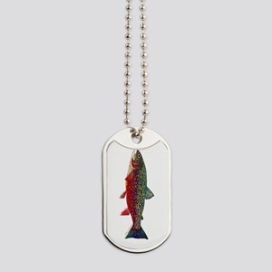 Brook Trout v2 Dog Tags