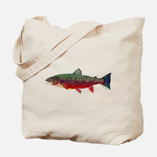 Brook Trout v2 Tote Bag