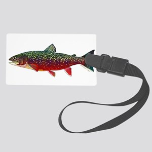 Brook Trout V2 Large Luggage Tag