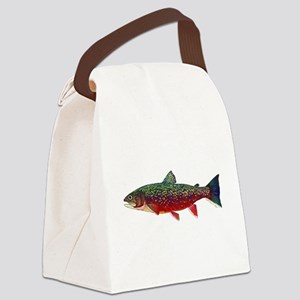 Brook Trout v2 Canvas Lunch Bag