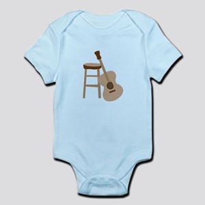 Guitar and Stool Body Suit