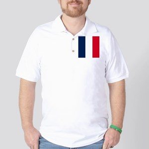 French Flag Golf Shirt