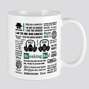 Breaking Bad Quotes Mugs
