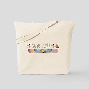 Himalayan Hieroglyphs Tote Bag