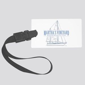 Martha's Vineyard - Large Luggage Tag