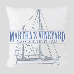 Martha's Vineyard - Woven Throw Pillow