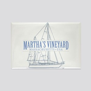 Martha's Vineyard - Rectangle Magnet