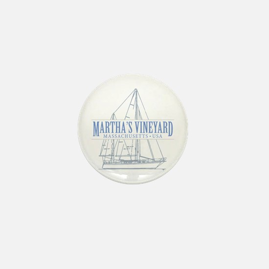 Martha's Vineyard - Mini Button