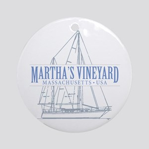 Martha's Vineyard - Ornament (Round)