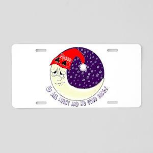 poker moon2 Aluminum License Plate