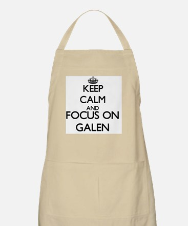 Keep Calm and Focus on Galen Apron