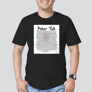 Poker Talk (Poker Terms) Ash Grey T-Shirt