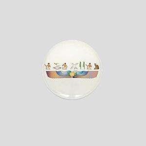 Balinese Hieroglyphs Mini Button