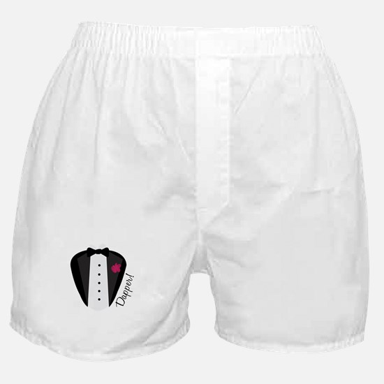 Dapper Tux Boxer Shorts