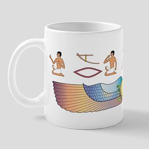 Shorthair Hieroglyphs Mug