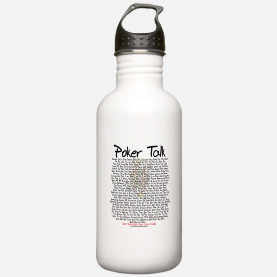 Poker Talk Water Bottle