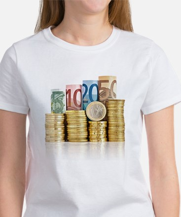 euro currency T-Shirt