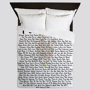 Poker Talk Queen Duvet