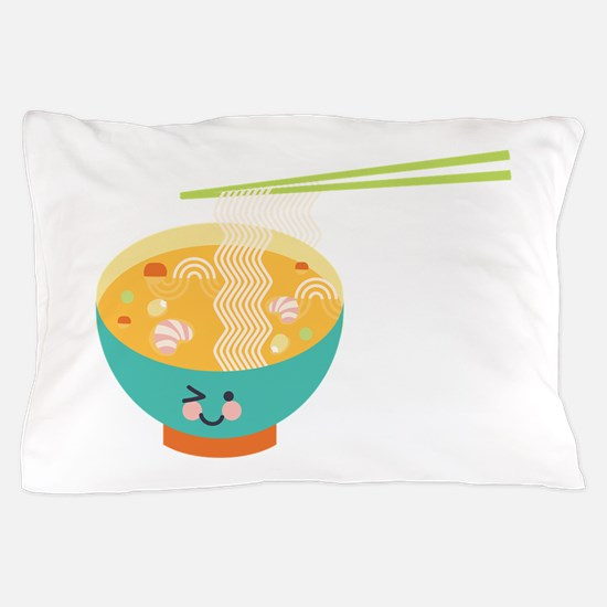 Winking Bowl Pillow Case