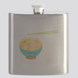 Winking Bowl Flask