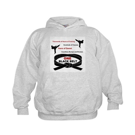 ONE Black Belt 1 Kids Hoodie