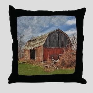 Old Barn 1 Throw Pillow