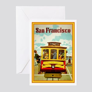 San Francisco Greeting Cards (Pk of 10)
