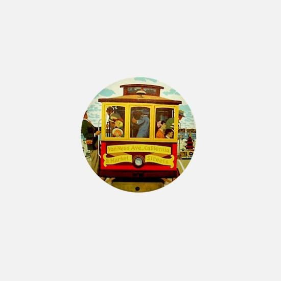 San Francisco Mini Button
