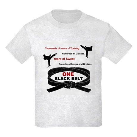ONE Black Belt 1 Kids Light T-Shirt
