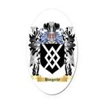 Hingerty Oval Car Magnet