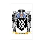 Hingerty Sticker (Rectangle 50 pk)