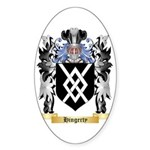 Hingerty Sticker (Oval)