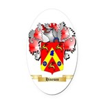 Hineson Oval Car Magnet