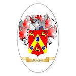 Hineson Sticker (Oval 50 pk)